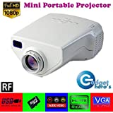 Gadget Hero'sTM UC33+ Mini HD Multimedia LED Projector (White)