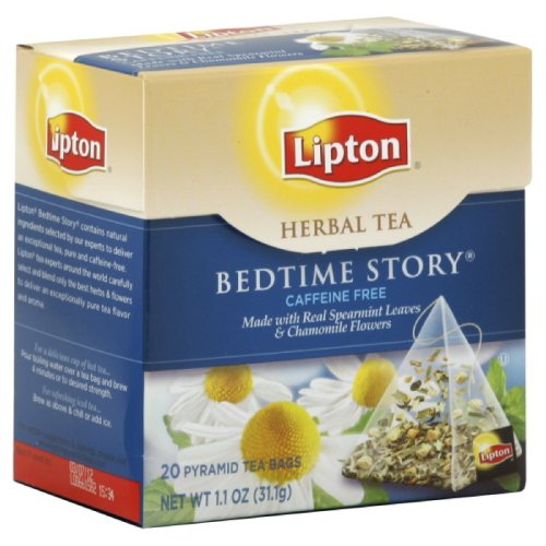 Lipton Tea Tea Pyramid Bedtime Story, 20-Count (Pack Of3)