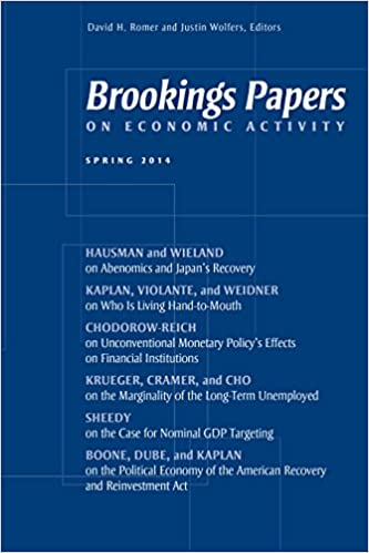 Brookings Papers on Economic Activity: Spring 2 8