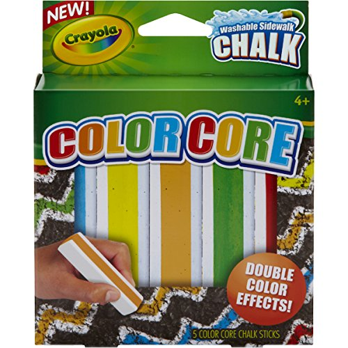 Crayola Special Effects Sidewalk Chalk - Color Core - 1