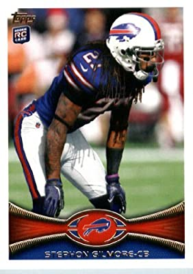 2012 Topps Football Card #154 Stephon Gilmore RC - Buffalo Bills (RC - Rookie Card)(NFL Trading Card)