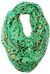 Liuanan 180cm100cm Women Leopard Infinity Scarf Animal Print