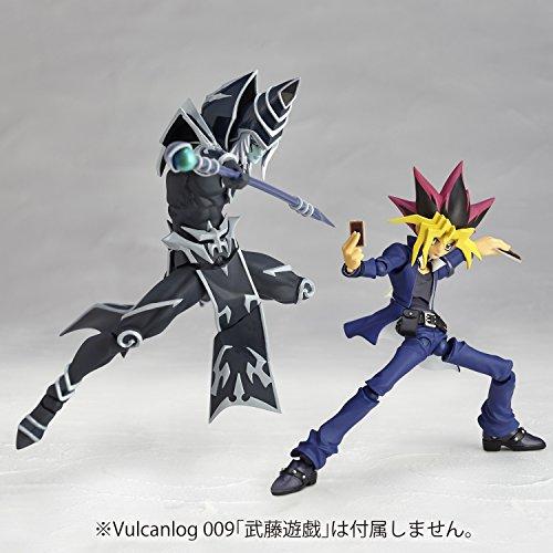Vulcanlog 010 遊☆戯☆王リボ ブラック・マジシャン ノンスケールPVC&ABS製塗装済み 可動フィギュア