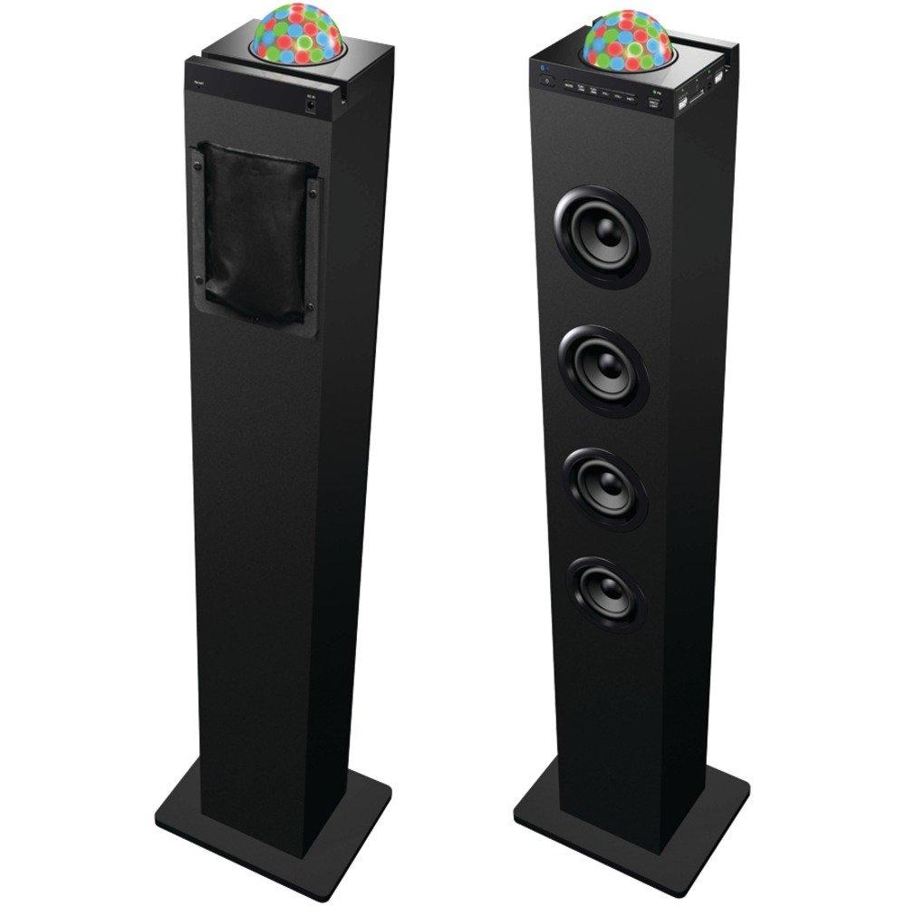 Sylvania Sp410 Disco Ball Tower Bluetooth R Speaker Dock