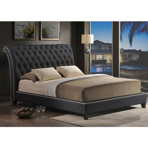 Leather Beds For Sale 8976 front