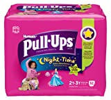 Pull-Ups Night-time Training Pants, Size 2T - 3T, Girl, 52 Count (Pack of 2)