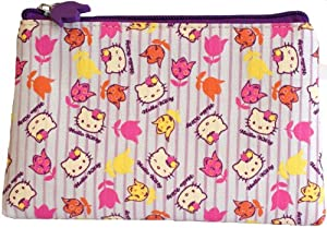 Hello Kitty Vintage Floral  Cosmetic Purse