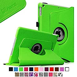 Fintie Apple iPad Air Case - 360 Degree Rotating Stand Case Cover with Auto Sleep / Wake Feature for iPad Air (iPad 5th Generation) 2013 Model, Green