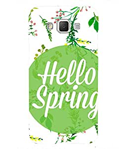 hello Spring 3D Hard Polycarbonate Designer Back Case Cover for Samsung Galaxy Grand 3