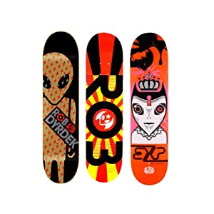 3 Alien Workshop Rob Dyrdek Skateboard Deck
