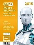 ESET Smart Security 2015 - 3 Computer (Frustfreie Verpackung)