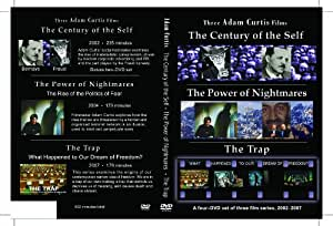 Adam Curtis Trilogy: Power of Nightmares, Century of Self, The Trap [4-DVD set in Amaray Case]