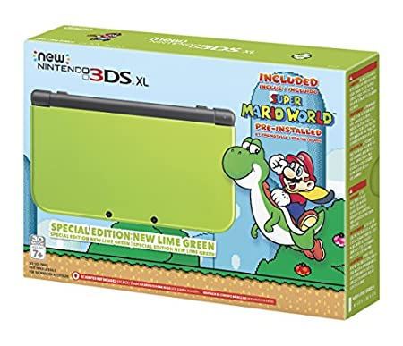 Nintendo New 3DS XL Special Edition: Lime Green (Amazon Exclusive)