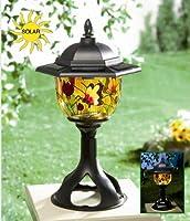 Princess International Tiffany Style Solar Patio & Garden Light by PRINCESS