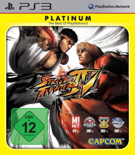 Street Fighter IV [Platinum], PlayStation 3