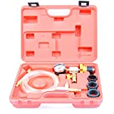 Refill & Purging Tool Gauge Kit for Auto Car Radiator Coolant Vacuum Cooling System