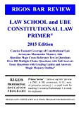 img - for Rigos Bar Review Law School and UBE Constitutional Law Primer book / textbook / text book
