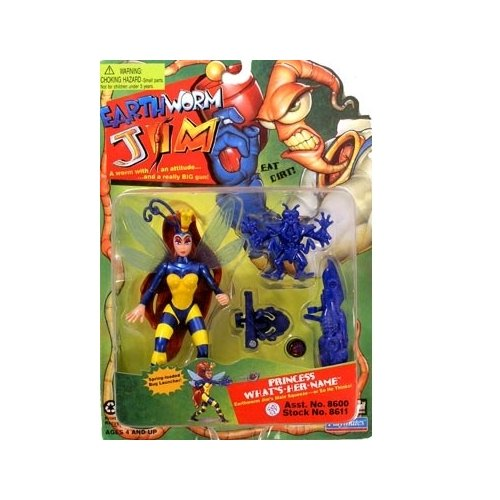 EarthWorm Jim Princess What's Her Name Action Figure