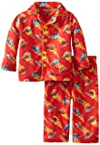 Disney Baby Boys' Race Time 2 Piece Pajama Set, Red, 12 Months