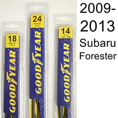 Subaru Forester (2009-2013) Wiper Blade Kit - Set Includes 24