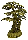 Tree Standing Krishna Brass Handicraft India Art 2621