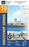 Ordnance Survey Ireland Dublin, Kildare, Meath and Wicklow (Irish Discovery Series)