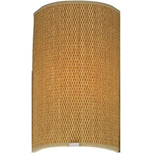 Forecast F5496 Taylor Wall Sconce Shade, Natural Grasscloth (Shade Only) - Light Fixture ...