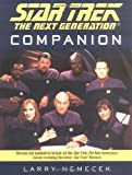 The Star Trek the Next Generation Companion (0743457986) by Nemecek, Larry