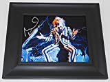Beetlejuice Michael Keaton Hand Signed Autographed 8x10 Photo Gallery Framed Loa