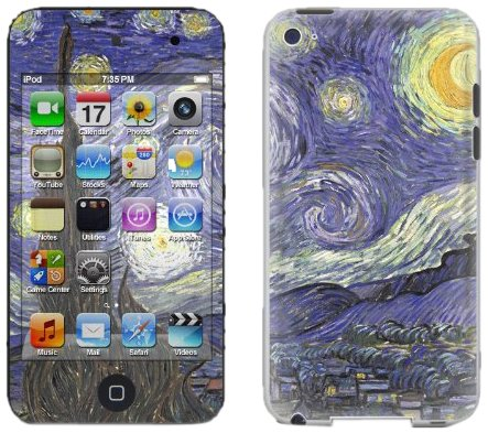 DecalGirl AIT4-VG-SNIGHT Protection d'écran pour iPod Touch 4G Starry Night