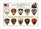Avenged Sevenfold Guitar Pick Display (Limited to 150)