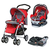 Chicco Cortina Travel System W 2 Keyfit 30 Seat Base, Fuego