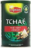 Lipton Tchaé Vhé vert Orient 25 sachets - Lot de 3