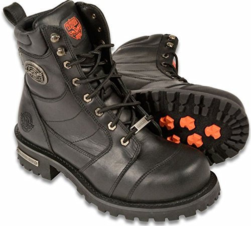 Milwaukee Leather Men's Logger Motorcycle Boot