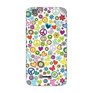 Garmor Designer Mobile Skin Sticker For XOLO Q610S - Mobile Sticker