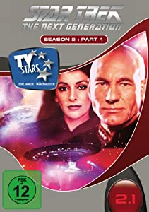 Star Trek - Next Generation - Season 2.1 (3 DVDs) [Import allemand]