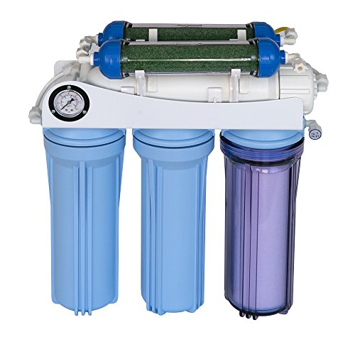 Koolermax AR-122 6-stage RO+DI Aquarium Reef RO system 80 to 120 GPD New complete (Ro Do Filter System compare prices)