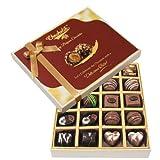 Chocholik Belgium Chocolates - 20pc Dark And Milk Chocolate Box