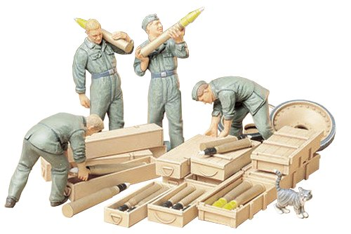 Tamiya Models German Tank Loading Crew Set