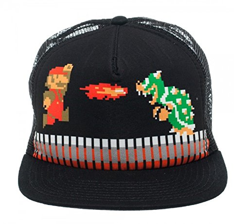 Super Mario Bros. World 8-4 Mario vs. Bowser Mesh Trucker