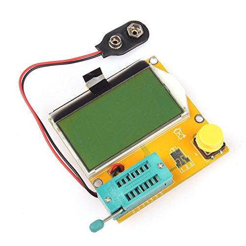 Sainsmart Mega328 Transistor Tester Diode Triode Capacitance Esr Meter Mos/Pnp/Npn L/C/R