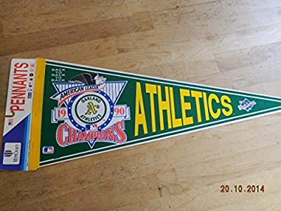 1990 Oakland Athletics American League Champions Back To Back Pennant Mint!