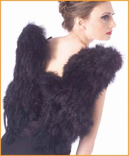Black-Feather-Angel-Fairy-Wings-Fancy-Dress-Costume