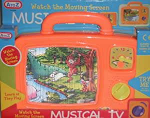 A-Z Musical TV (Assorted Colours)