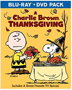 A Charlie Brown Thanksgiving Blu-ray from Warner Home Video