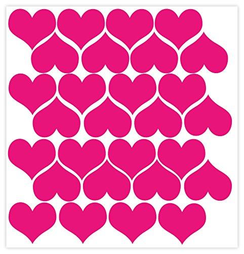 Wall Decor Plus More : Wall decor plus more wdpm heart vinyl stickers for