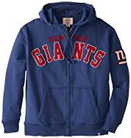 NFL York Giants Men's Striker Full Zip Jacket by Twins Enterprise/47 Brand