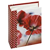 Panodia Elea 100 4 x 6-inch Photo Album, Red
