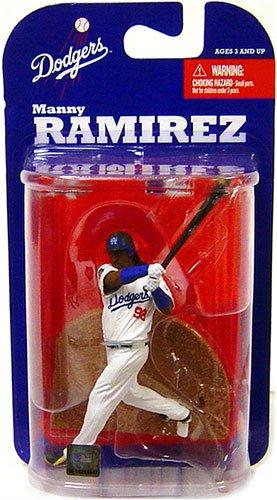 McFarlane Toys MLB 3 Inch Sports Picks Series 7 Mini Figure Manny Ramirez (Los Angeles Dodgers)