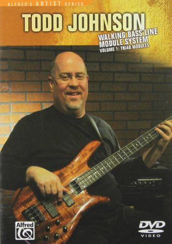 Todd Johnson - Walking Bass Line Module System, Vol. 1: Triad Modules (DVD)